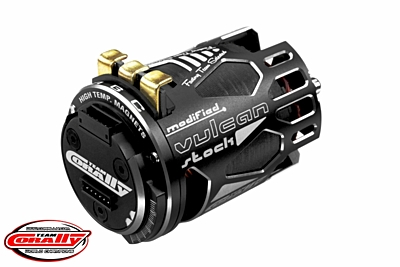 Corally Vulcan Stock Sensored Competition Brushless Motor 10.5T