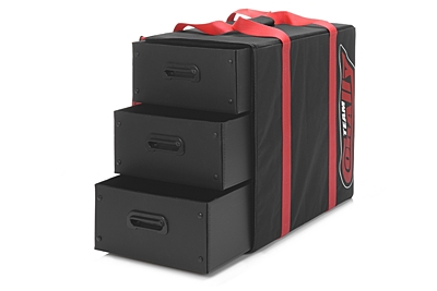 Corally Carrying Bag - 3 Corrugated Plastic Drawers
