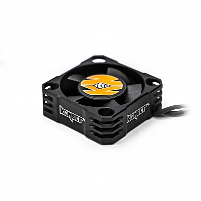 Konect Aluminium 30mm High Speed Cooling Fan (BEC connector)