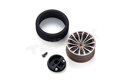 KO Propo Aluminum Steering Wheel2 (Gun Metal)