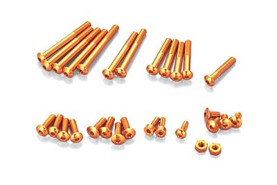 KO Propo Aluminum Screw set for EX-RR/EX-2 (Orange)