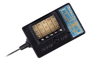 KO Propo KR-418FH (2.4GHz, 4-Channel, FHSS, HCS) Receiver