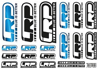LRP Sticker Sheet Logo Din A4 3