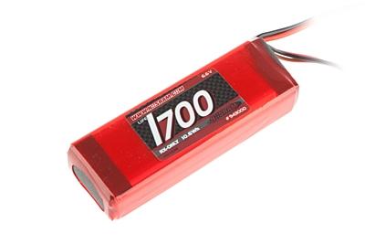 Nosram VTEC LiFePo 1700mAh RX-Pack 2/3A Straight - RX-only - 6.6V