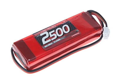 Nosram VTEC LiPo 2500mAh RX-Pack 2/3A Straight - RX-only - 7.4V
