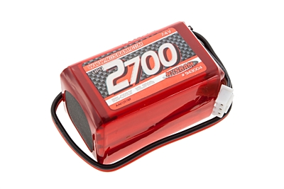 Nosram VTEC LiPo 2700mAh RX-Pack 2/3A Hump - RX-only - 7.4V