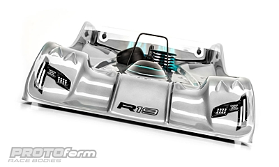 PROTOform R19 PRO Light Weight Clear Body (1:8 Onroad)