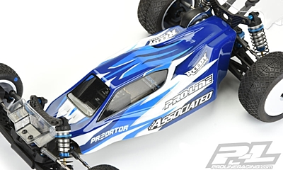 Pro-Line Predator Clear Body for AE B6 & B6D