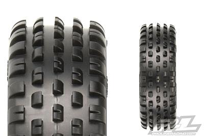 "Pro-Line Wide Wedge 2.2"" 2WD Z3 (Medium Carpet) Off-Road Carpet Buggy Front Tires"