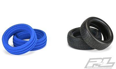 "Pro-Line Inversion 2.2"" 2WD MC (Clay) Front Buggy Tires"