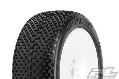 Pro-Line Suppressor X4 (Super Soft) Off-Road 1:8 Buggy Tires Mounted
