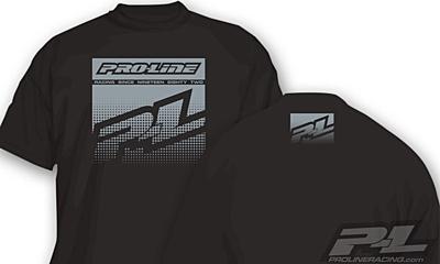 Pro-Line Half Tone Black T-Shirt - XXL
