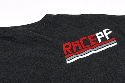 PF Slice Black Tri-Blend T-Shirt XXXL