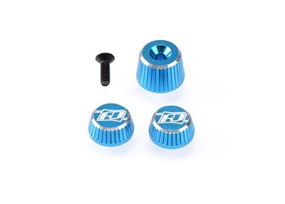 Revolution Design M17 Dial and Nut Set (Light Blue)