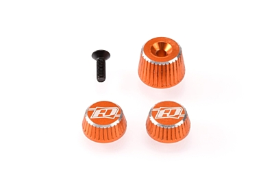 Revolution Design M17 Dial and Nut Set (Orange)