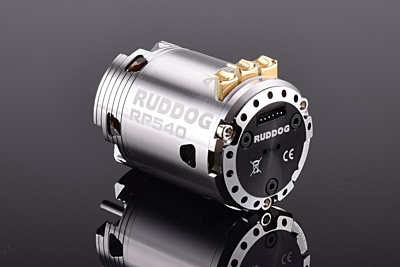 Ruddog RP540 4.0T 540 Sensored Brushless Motor