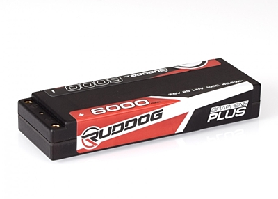 Ruddog Graphene Plus LCG 6000mAh 7.6V 2S 100C HV LiPo (5mm, 260g)
