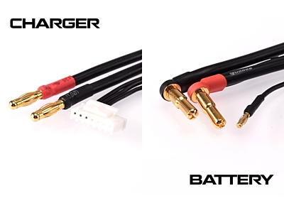 Ruddog 2S Charging Lead 60cm (4/5mm, 2mm / 4mm, 7PIN-PQ)