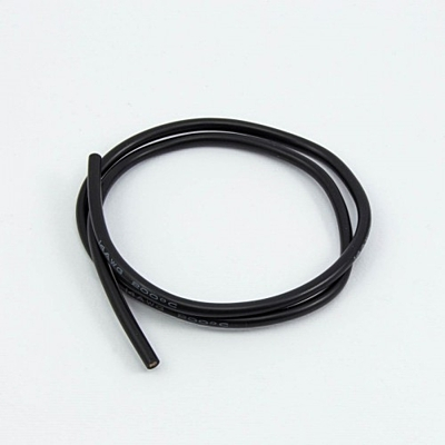 Ultimate Racing 14AWG Black Silicone Wire (50cm)