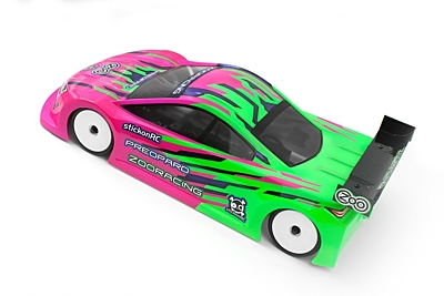 ZooRacing PreoPard Ultralight Touring Car Body 190mm
