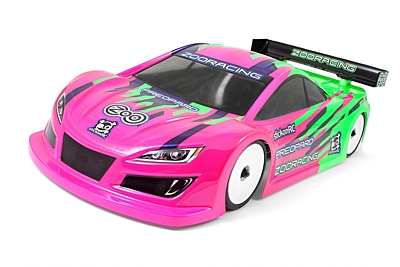 ZooRacing PreoPard Ultralight 0.5mm Touring Car Body 190mm