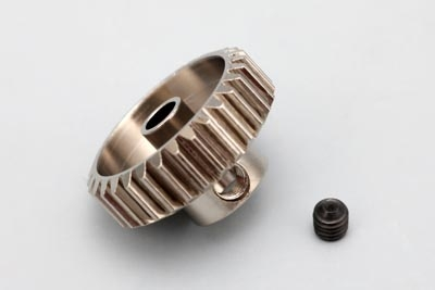 Yokomo 22T Hard Precision Pinion Gear (48Pitch·Light Weight)