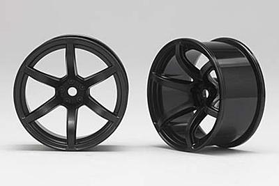 Racing Performer Drift Wheel 6 spoke 02 (8mm Offset·Black·2pcs)