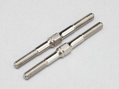 Yokomo 39mm Nickel Hard Steel Turn Buckle (2pcs)