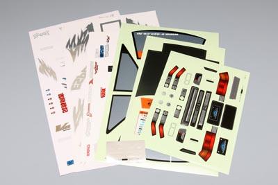 Yokomo DRoo-P AE86 Decal Set