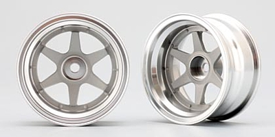 Yokomo 6-Spoke Wheel Off-set 12mm