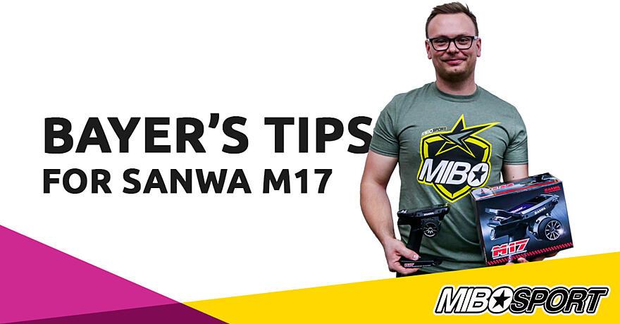 Sanwa M17 useful TIPS from Martin Bayer