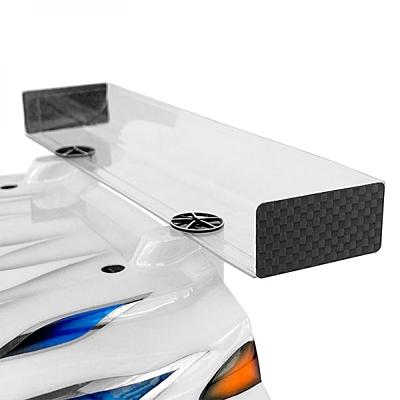 1up Racing UltraLite Carbon Fiber Winglets w/ 3M Adhesive – 1/10 EP Sedan (4pcs)