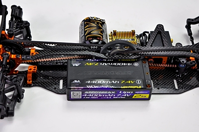 Arrowmax Medius Xray T4 MID Conversion Kit (2.25mm Carbon Main Chassis)