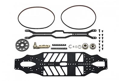Arrowmax Medius Yokomo BD9 MID Conversion Kit (2.0mm Alloy Main Chassis)