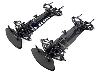 Awesomatix A800FXC EVO 1/10 Front-Wheel Drive Touring Car - Carbon Lower Deck Version