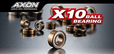 AXON X10 Ball Bearing Set for XRAY T4 2018 (14pcs)