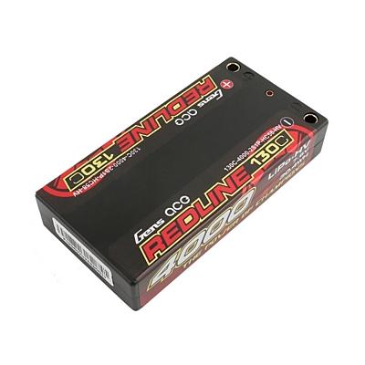 Gens ace Redline Series Shorty 4000mAh 7.6V 2S 130C HV LiPo (4mm, 147g)