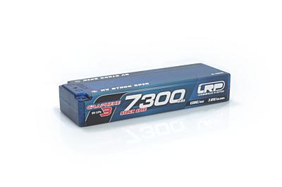 LRP HV Stock Spec GRAPHENE-3 7300mAh Hardcase Battery-7.6V LiPo-130C/65C
