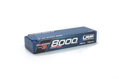 LRP Graphene-3 Stock Spec 8000mAh 7.6V 2S 130C/65C HV LiPo (5mm, 330g)