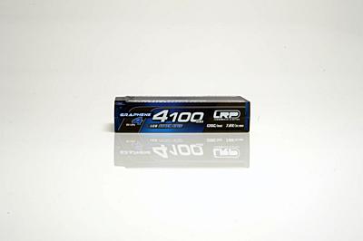 LRP Graphene-4 LCG Stock Spec Shorty 4100mAh 7.6V 2S 135C/65C HV LiPo (5mm, 188g)