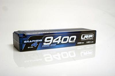 LRP Graphene-4 Stock Spec 9400mAh 7.6V 2S 135C/65C HV LiPo (5mm, 336g)