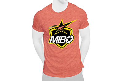 MIBO Team T-Shirt 2.0 (Heather Orange)