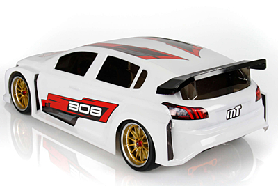 Mon-Tech 308 TCR FWD Clear Body 190mm