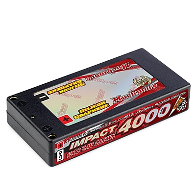 Muchmore Impact SG Thin LCG Max-Punch FD4 Shorty 4000mAh 7.4V 2S 130C LiPo (4mm, 164g)