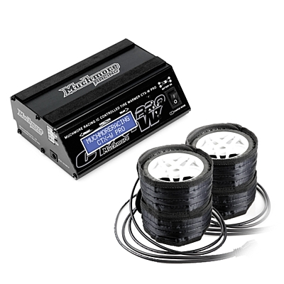 Muchmore IC Controlled Tire Warmer Pro Long Belt Type for 1/10 Off-Road, 1/8 GT