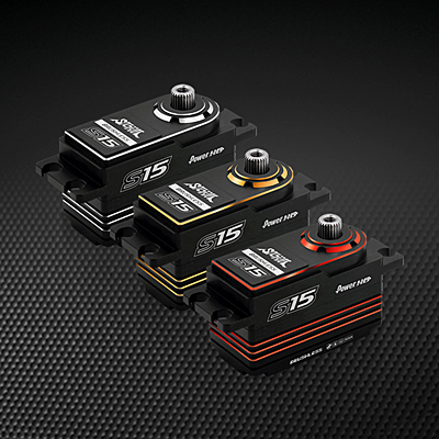 Power HD S15 Silver Low Profile (0.06s/15.0kg/7.4V) Brushless Servo
