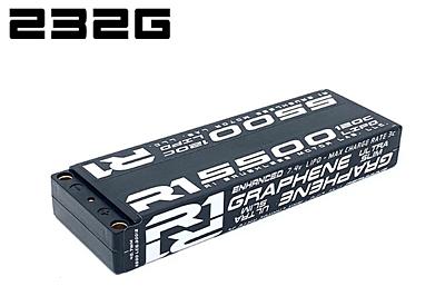 R1 Wurks 5500mAh 120C 7.4V 2S Enhanced Graphene Super Slim Battery
