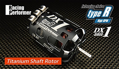 Yokomo Racing Performer DX1 Type-R (High Rotation type) Motor (Titanium Shaft) 10.5T