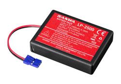Sanwa Li-Po Battery LP1-2500 3,7V for M17