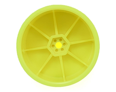 Schumacher Wheel Rear - Neon Yellow (5 pairs)